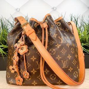 Authentic Louis Vuitton Petit Noe Monogram Bag